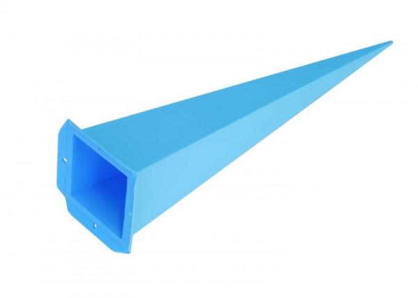 Einzelzacke A7 - Viereck, blau
