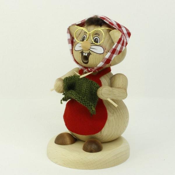 "Familie Körnlein - Rauchfigur ""Oma"" ca 12,5 cm"