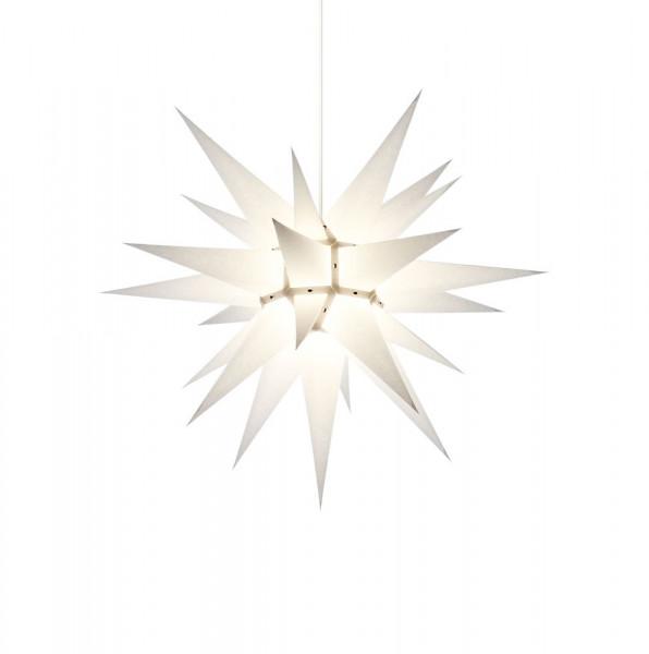 Herrnhuter Adventsstern I6, 60 cm Weiß