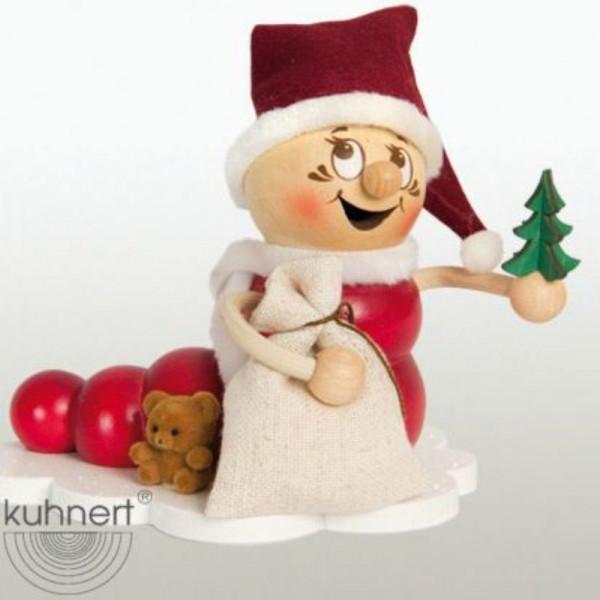 Erzgebirgische Räucherfigur Weihnachts-Rudi, Artikel 37005