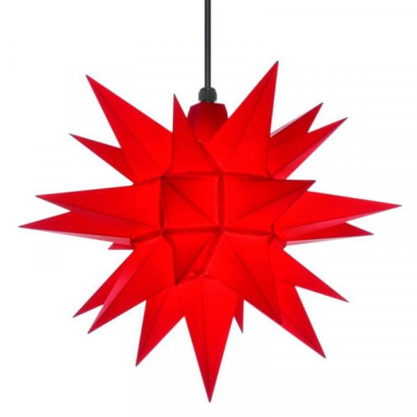 Herrnhuter Adventsstern Außenstern 40 cm Rot Kunststoffstern für Außen- und Innenbereich geeignet