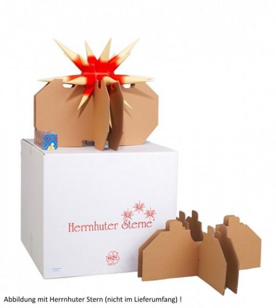 Aufbewahrungskarton für Herrnhuter Stern geeignet für Innen- und Außensterne 40 bis 70 cm