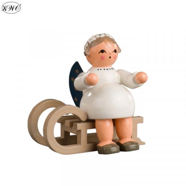 Engel mit Schlitten, 5 cm