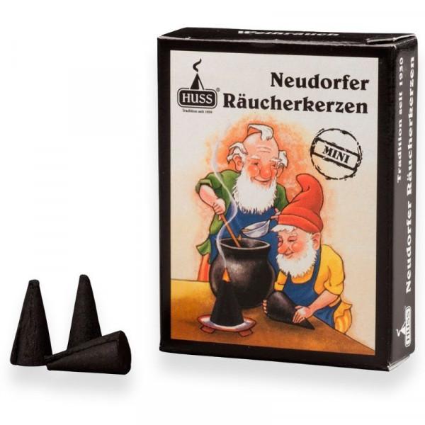 Original Neudorfer Räucherkerzen Weihrauchduft Größe Mini Original Erzgebirgische Räucherkerzen der Firma Huss
