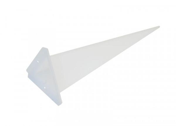 Einzelzacke A7 - Dreieck, opal