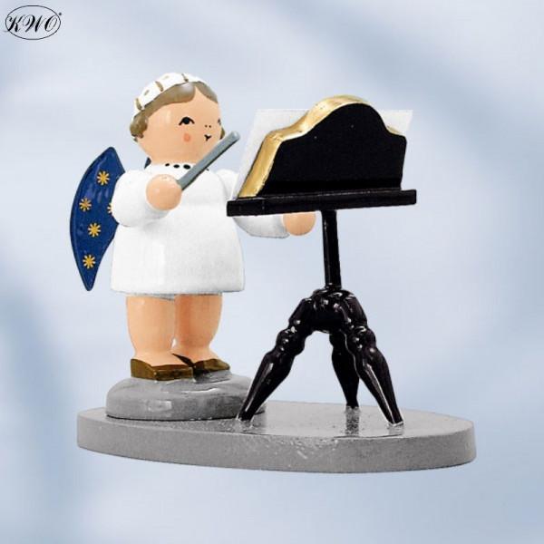 Engel Dirigent mit Notenständer, 5 cm