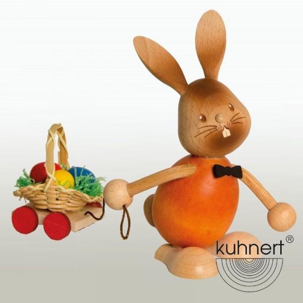 Stupsi Hase mit Eierwagen, Artikel 52209 Höhe ca. 11 cm