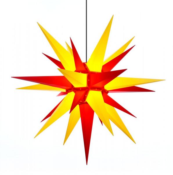 Herrnhuter Adventsstern Außenstern 130 cm Gelb-Rot