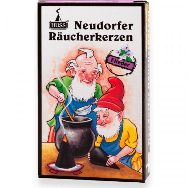 """Neudorfer Räucherkerzen """"Zwerge"""" Fliederduft Original Erzgebirgische Räucherkerzen der Firma Huss"""