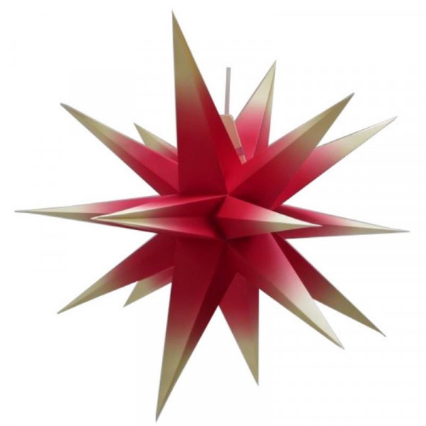 Annaberger Faltstern Nr. 7 (70 cm) rot-gelb