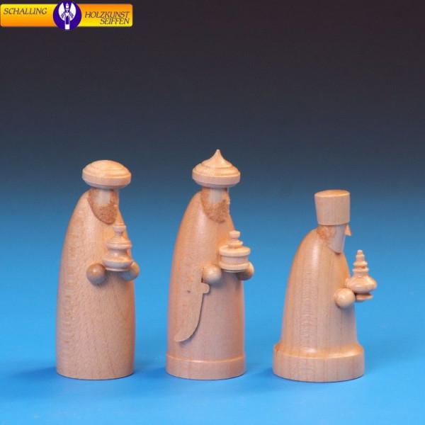"""Krippenfiguren """"Die drei Weisen""""natur, 6 cm"""