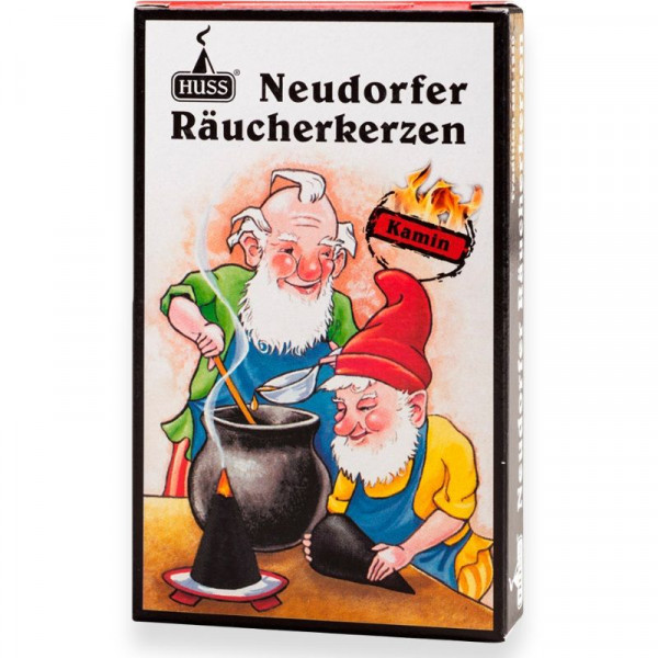 "Neudorfer Räucherkerzen ""Zwerge"" Kaminduft Original Erzgebirgische Räucherkerzen der Firma Huss"