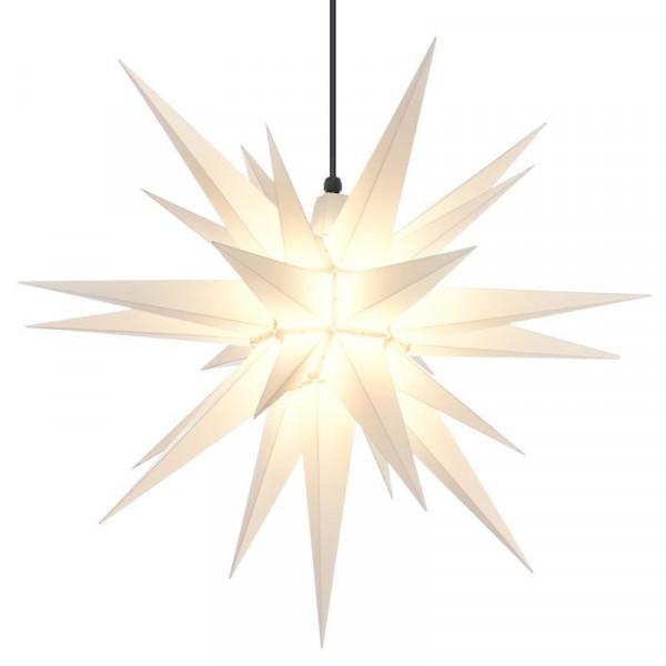 Herrnhuter Adventsstern Außenstern 68 cm Weiß