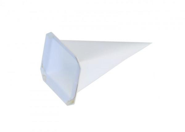 Einzelzacke I4 - Viereck weiß