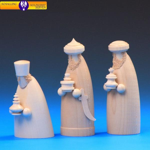 """Krippenfiguren """"Die drei Weisen"""", natur, 12 cm"""