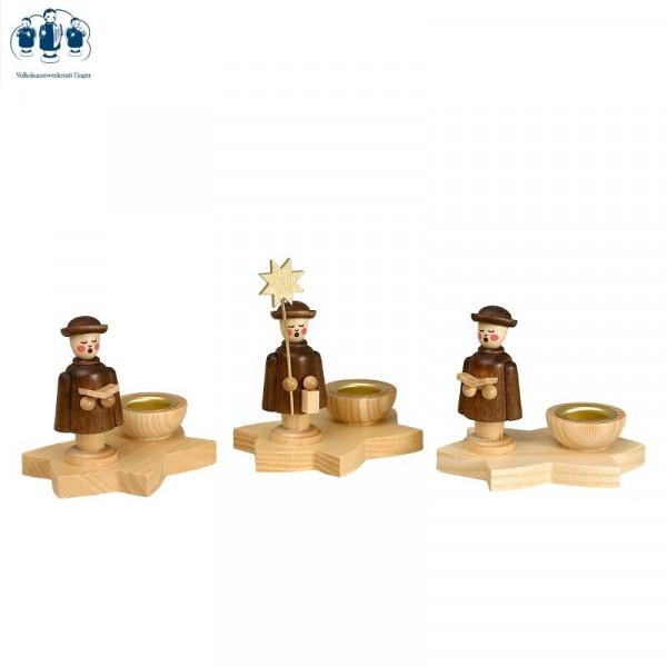 Kerzenhalter Kurrendestern 3er Set