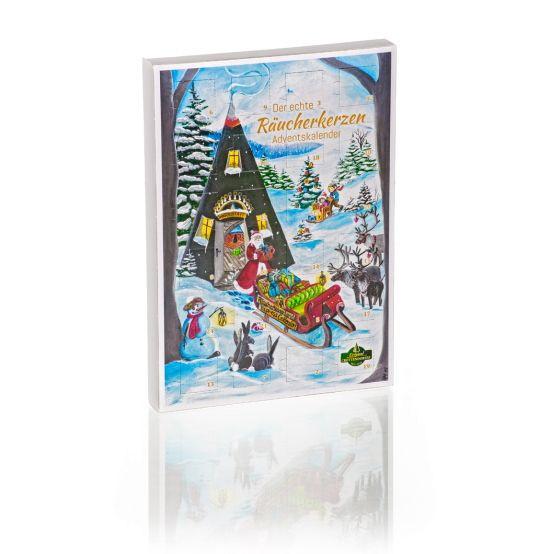 Crottendorfer Räucherkerzen-Adventskalender 24 verschiedene Düfte