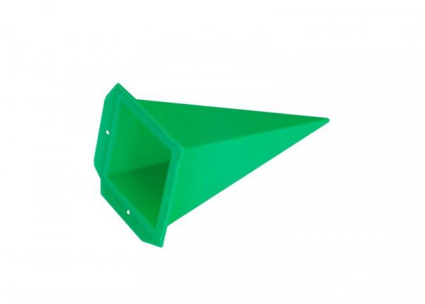 Einzelzacke A4 - Viereck, grün