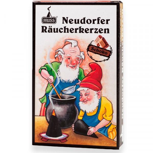 "Neudorfer Räucherkerzen ""Zwerge"" Schokoduft Original Erzgebirgische Räucherkerzen der Firma Huss"
