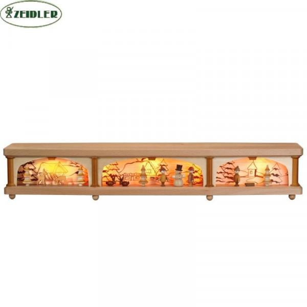 Fensterbank innenbeleuchtet mit Motiv 65 cm breit