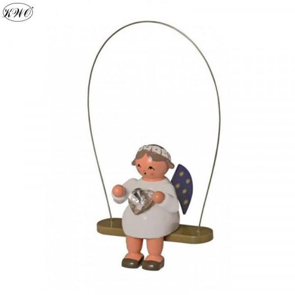 Schaukelengel mit Herz, 8 cm