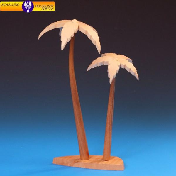 Palmenduo (2 Stück) 23cm/ 17 cm