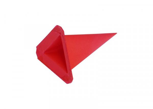 Einzelzacke I4 - Dreieck rot