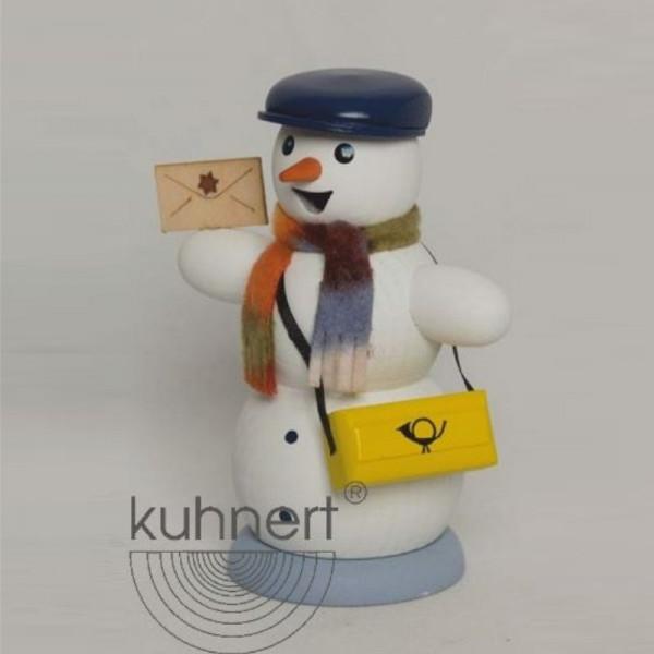 Räucherfigur Schneemann Briefträger