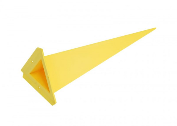 Einzelzacke A7 - Dreieck, gelb