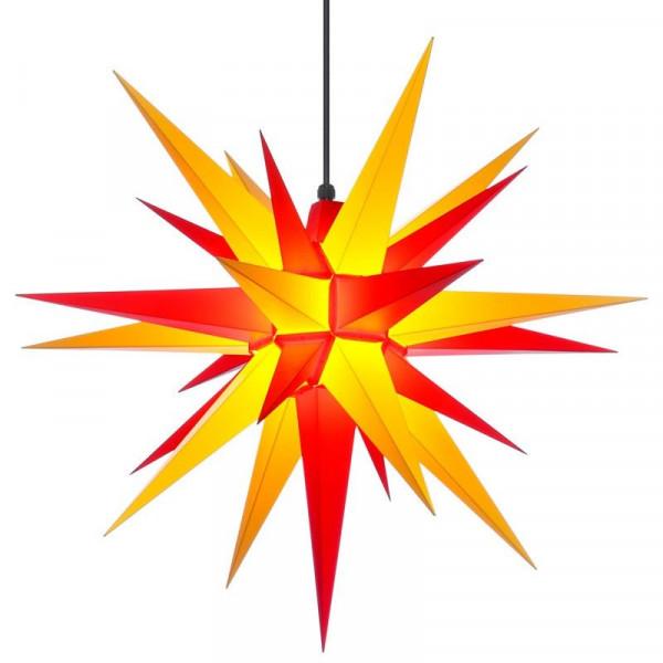 Herrnhuter Adventsstern Außenstern 68 cm Gelb-Rot