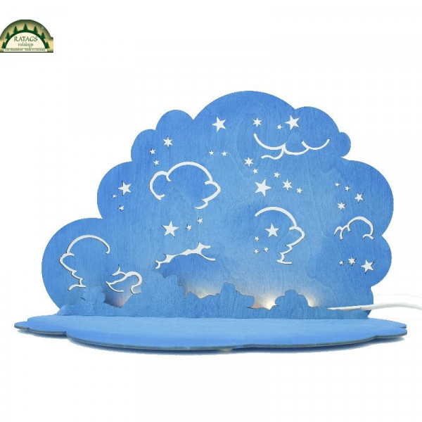 Wolke mit LED-Beleuchtung