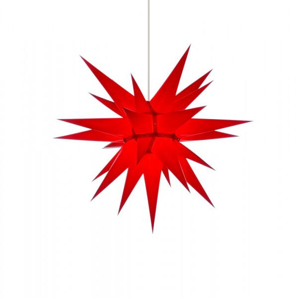 Herrnhuter Adventsstern I7, 70 cm Rot