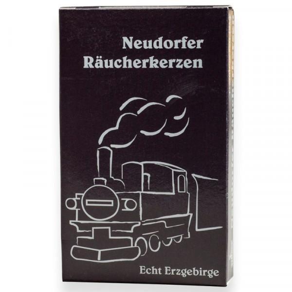 Neudorfer Räucherkerzen technische Düfte, Dampflokduft Original Erzgebirgische Räucherkerzen für Eisenbahnfreunde