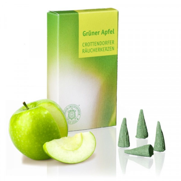 Original Crottendorfer Räucherkerzen - Grüner Apfel
