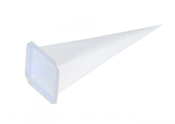 Einzelzacke I7 - Viereck, weiß