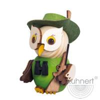 Kuhnert Holzfigur Minieule Jäger Kuhnert Artikel 37325, Höhe ca. 7 cm