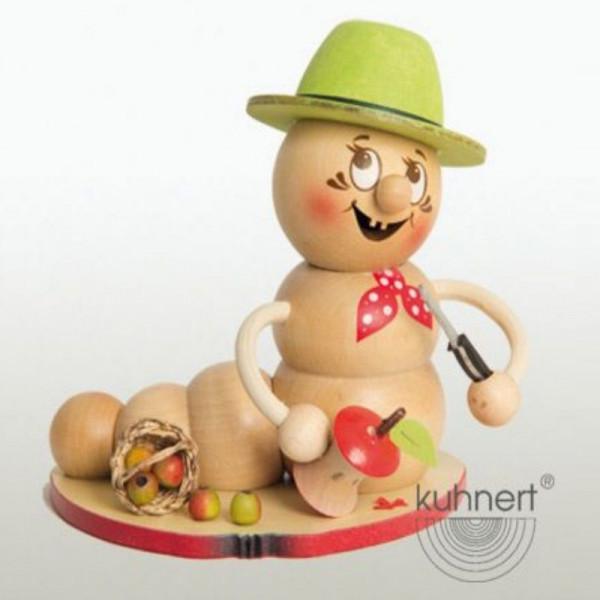 Erzgebirgische Räucherfigur Apfel-Rudi, Artikel 37002