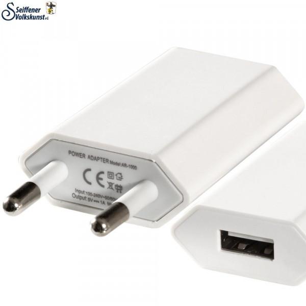 Passendes Netzgerät für USB-Leuchterbögen (USB-Netzgerät)