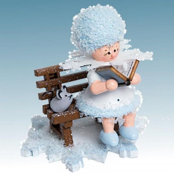 Schneeflöckchen Geschichtenerzähler, Artikel 43114 Sammelfigur, Höhe ca. 5 cm