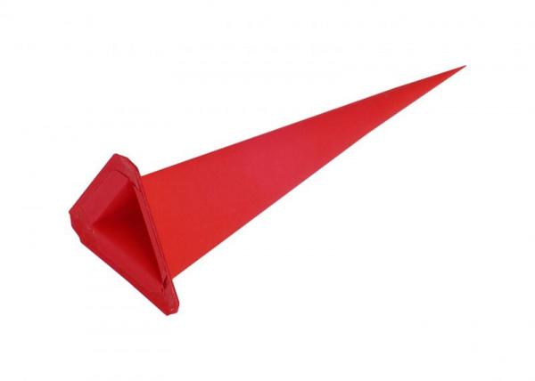 Einzelzacke I7, I8 - Dreieck rot Ersatzzacke für Herrnhuter Stern I7 und I8