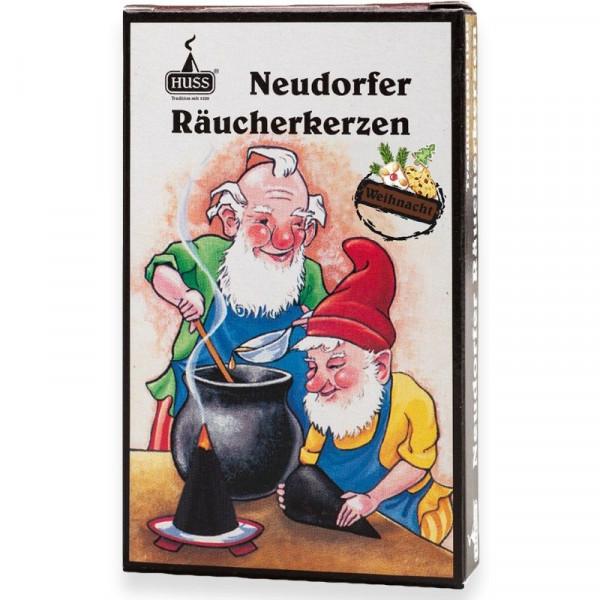 """Neudorfer Räucherkerzen """"Zwerge"""" Weihnachtsduft Original Erzgebirgische Räucherkerzen der Firma Huss"""