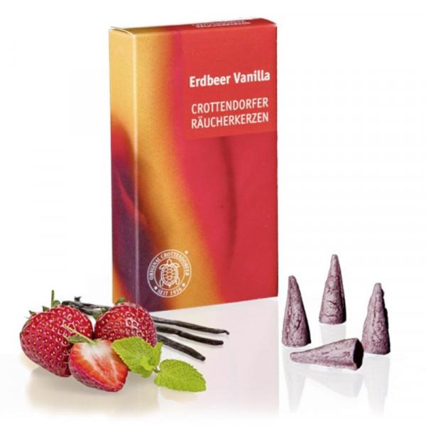 Original Crottendorfer Räucherkerzen - Erdbeer Vanilla
