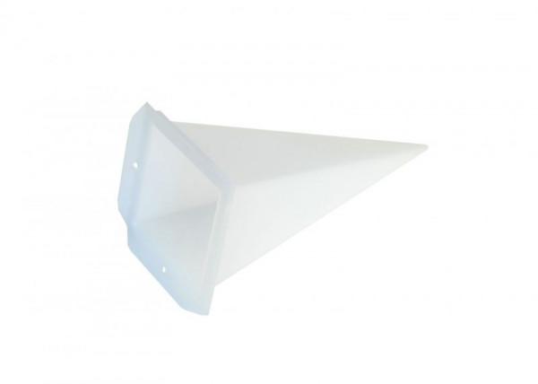 Einzelzacke A4 - Viereck, opal
