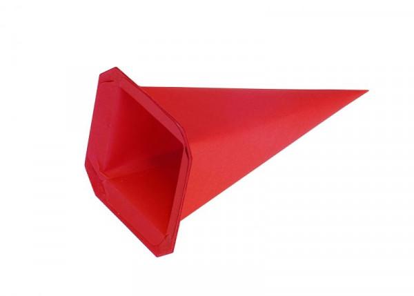 Einzelzacke I4 - Viereck rot