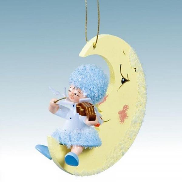 Schneeflöckchen mit Geige auf Mond, Artikel 43041