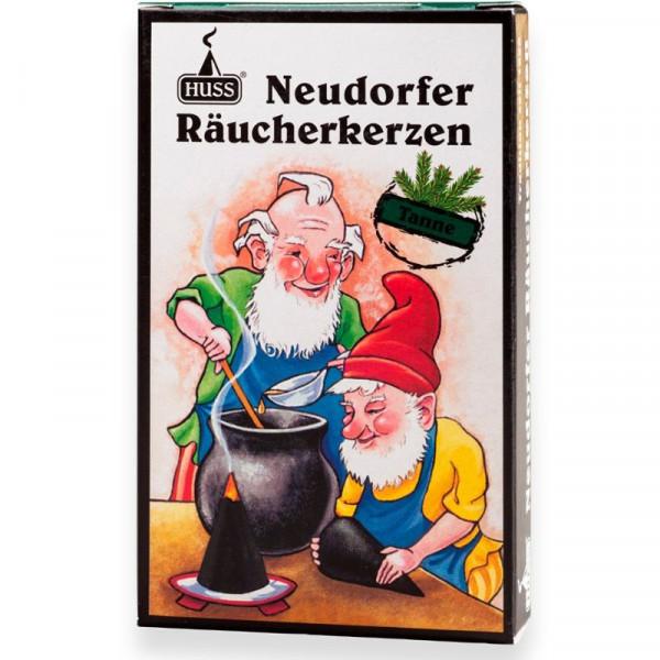 """Neudorfer Räucherkerzen """"Zwerge"""" Tannenduft Original Erzgebirgische Räucherkerzen der Firma Huss"""