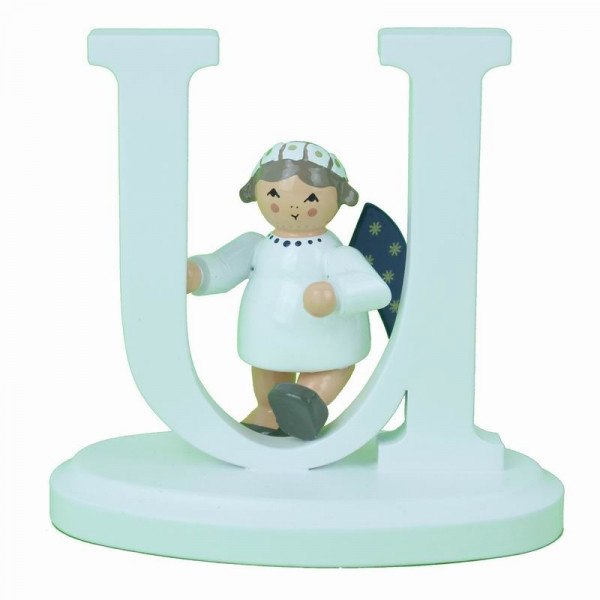 """Engel-Buchstabe """"U"""", 7 cm"""