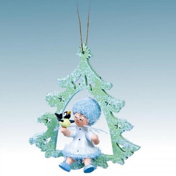 Schneeflöckchen mit Vögelchen, Artikel 43048