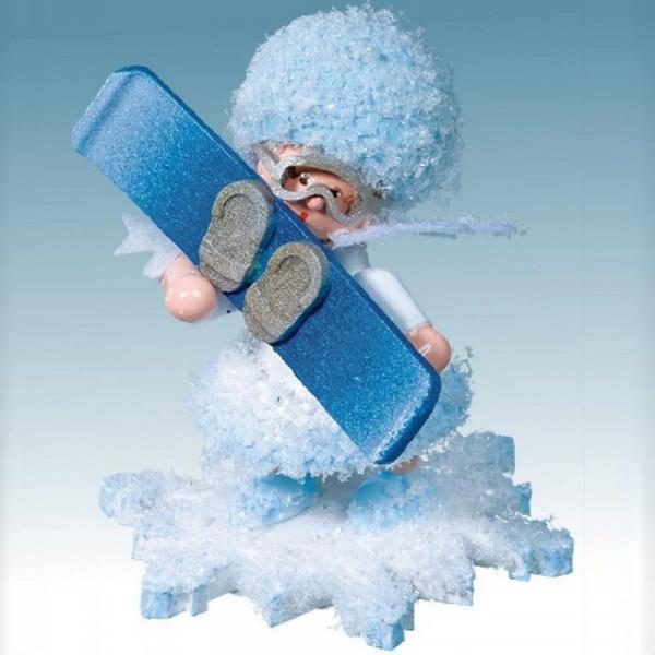 Schneeflöckchen mit Snowboard, Artikel 43065