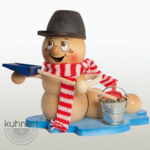 Erzgebirgische Räucherfigur Glatteis-Rudi, Artikel 37006